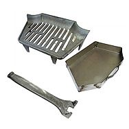 Classic Guardette 18 Inch Fire Grate & Ashpan to Suit an 18 Inch Fire