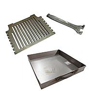 "Grant Hydro 16"" Fire Grate & 16"" Ashpan To Suit A 16"" Fire"