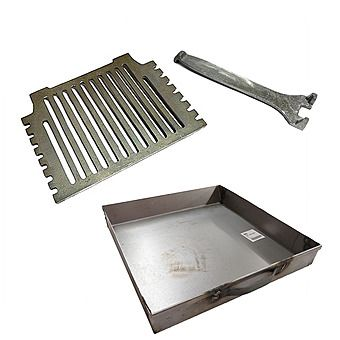 """Picture of Grant Hydro 16"""" Fire Grate & 16"""" Ashpan To Suit A 16"""" Fire"""