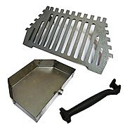 Queen Star 18 Inch Fire Grate & Ashpan for 18 Inch Queenstar Burner