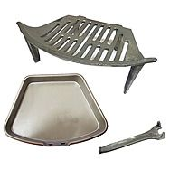 OFCO 16 Inch Fire Grate And Ashpan Set