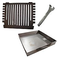 Regal Turbo 16 Inch Fire Grate With Compatible Ash Pan