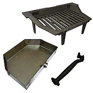 Astra 18 Inch Fire Grate With Compatible Ash Pan