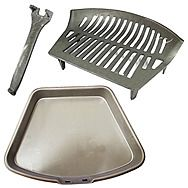 Fire Stool 16 Inch Fire Grate With General Purpose Ashpan