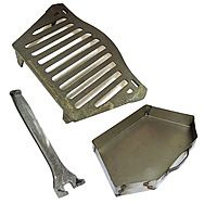 Joyce 18 Inch Fire Grate And Compatible 18 Inch Ash Pan Set