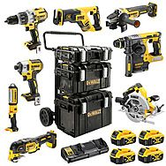DEWALT DCK853P4RGL 8 Piece ALL Brushless 18V Powertool Kit 4 x 5.0Ah
