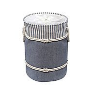 Showerdrape Nautica Blue & White Laundry Hamper Basket