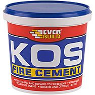 EverBuild KOS Fire Cement 2 Kilo Tub