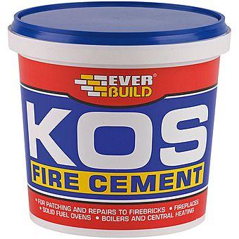 EverBuild KOS Fire Cement 2 Kilo Tub