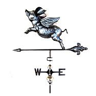 Flying Animal Weather Vane With Stake - 3D