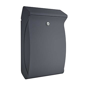 Burg Wachter Swing Post Box Anthracite Black