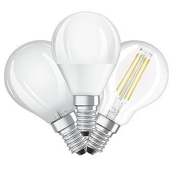 Picture of Osram 4-5.7W LED Golfball Small Edison Screw Bulb