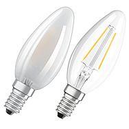 Osram 4.5W Candle LED Filament Bulb - Small Edison Screw