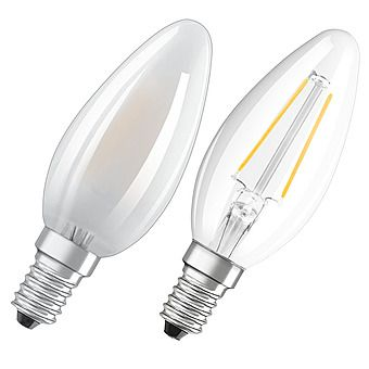 Picture of Osram 4.5W Candle LED Filament Bulb - Small Edison Screw