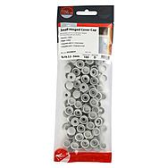 Timco Small Hinged Screw Cap 100pc - 3.5-5mm