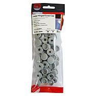 Timco Hinged Screw Caps 50pc Large