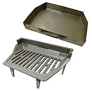 Astra 16 Inch Fire Grate And Ash Pan Set