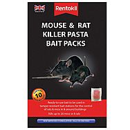 Rentokil Mouse And Rat Killer Pasta Bait Packs