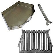 Firestar 18 Inch Fire Grate And Ash Pan Set