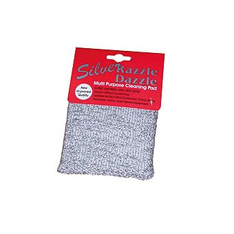 Silver Razzle Dazzle Non-Scratch Scourer