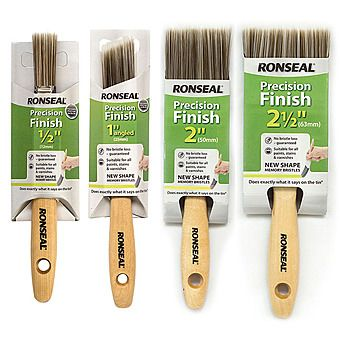 Picture of Ronseal Precision Finish Paint Brush 0.5 - 2.5 Inch