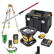 DeWalt DCE079D1G 18V XR Self Level Green Rotary Laser Kit
