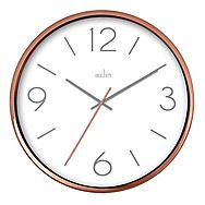 Acctim Landon Copper Effect Wall Clock 25cm