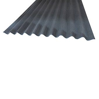 Coroline Corrugated Black Roofing Sheets 2m x 950mm