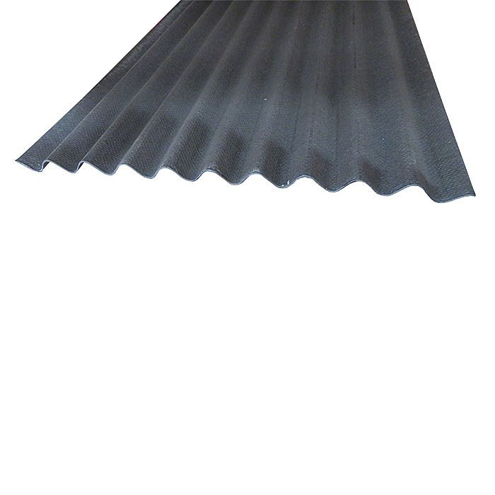 Coroline Corrugated Black Roofing Sheets 2m X 950mm Ray Grahams Diy Store