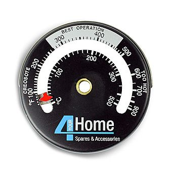 Magnetic Stove And Pipe Flue Thermometer