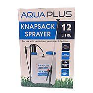 AquaPlus Knapsack Sprayer 12 Litre Back Pack Sprayer