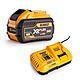 DeWalt DCM5713X1 54v FlexVolt 38cm Split Shaft Strimmer & 9.0Ah Battery