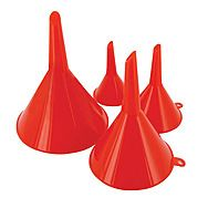 4 Piece Value Funnel Set - 50, 75, 100 & 120mm
