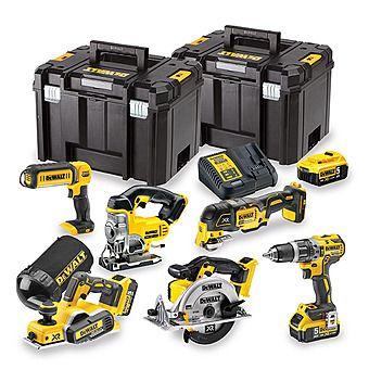 Dewalt DCK665P3T 18V Cordless 6 Piece Kit & 3 x 5.0Ah Batteries