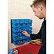 Draper 06797 24 Bin Wall Storage Unit (large Bins)