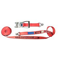 Ray Grahams Branded Ratchet Strap 8m x 50mm