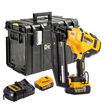 Dewalt DCN660P2 Cordless Finish Nailer 18v 16 Gauge 32-63mm 2 x 5.0Ah Batteries