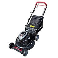 ProPlus 56cm Self Propelled Petrol Aluminium Lawnmower With Briggs & Stratton Motor
