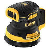 DEWALT DCW210N Cordless 18V Random Orbital Sander - 125mm - Body Only
