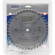 Draper 09477 Expert Tct Saw Blade 210x30mmx40t