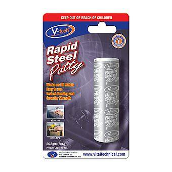 V-Tech VT-138 Rapid Steel Putty Epoxy