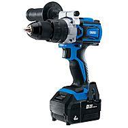 Draper 79894 D20 20V Brushless Combi Drill - 4.0Ah Battery