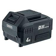 Draper 55898 D20 20V 4.0Ah Li-ion Slide Battery