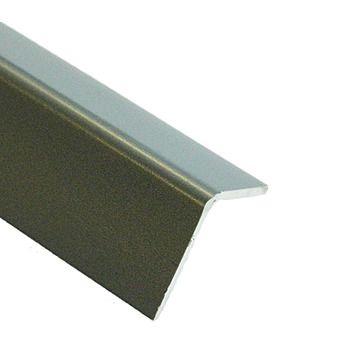 Picture of Grey PVC Corner Profile 2 Metre 20x20mm