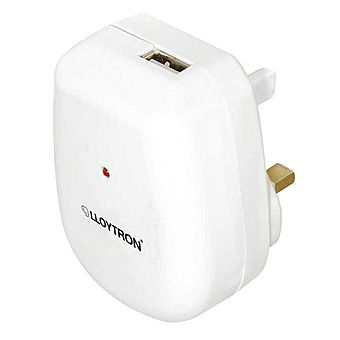 Lloytron 2100mA USB High Power Wall Charger