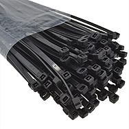 Large 1 Metre Cable Ties Black