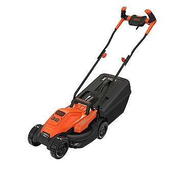 Black & Decker BEMW451BH 32cm 1200W Lawn Mower With Bike Handle