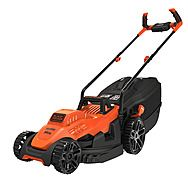 Black & Decker BEMW461BH 34cm 1400W Lawn Mower With Bike Handle