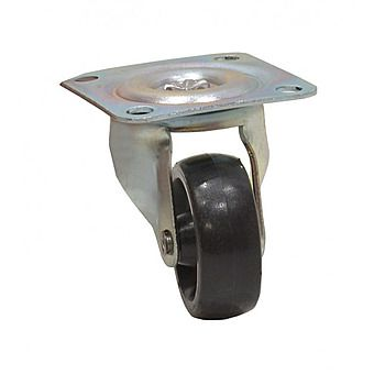 41mm Plate Fix Single Wheel Castors