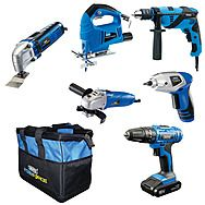 Draper 93117 6 Piece Power Tool Kit With Kit Bag